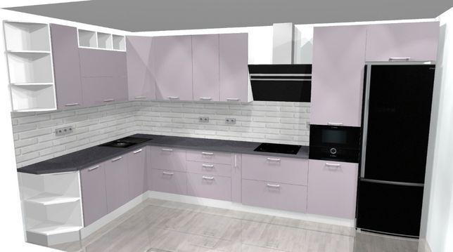 Дизайн проект кухни/шкафы