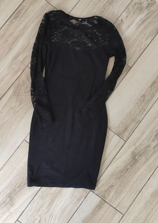 Sukienka z koronką h&m xs