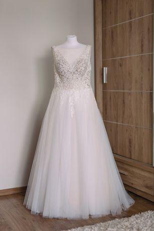 Suknia ślubna Melody, rozmiar 42, 178 cm