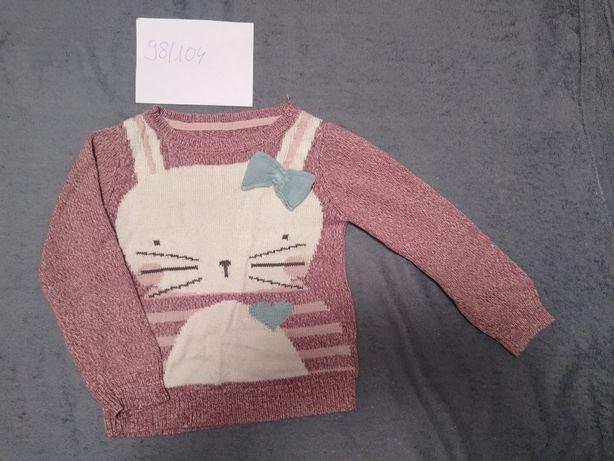Sweterek dziewczęcy 98/104