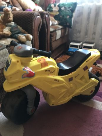 Толкач мотоцикл
