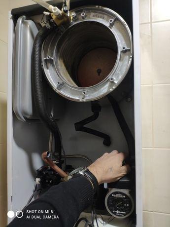 Ремонт,чистка,промывка газовых котлов. Киев,Ирпень,Буча