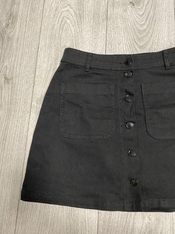 Продам черную джинсовую юбку Cropp