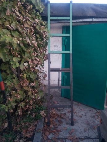 Лестница металлическая, уголок 50мм