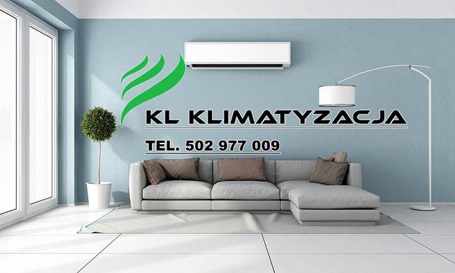 Montaż Serwis Klimatyzacji - Rekuperacji - Pompy Ciepła - Chłodnistwo