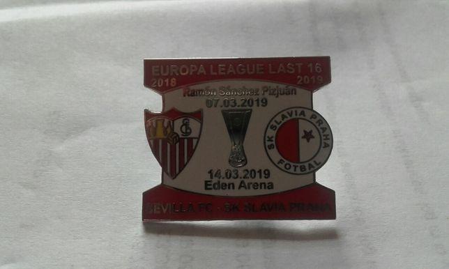 Odznaka Liga Europy Sevilla Slavia