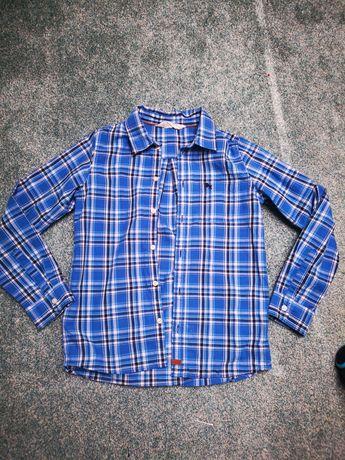 Koszula chlopieca w kratę H&M 134