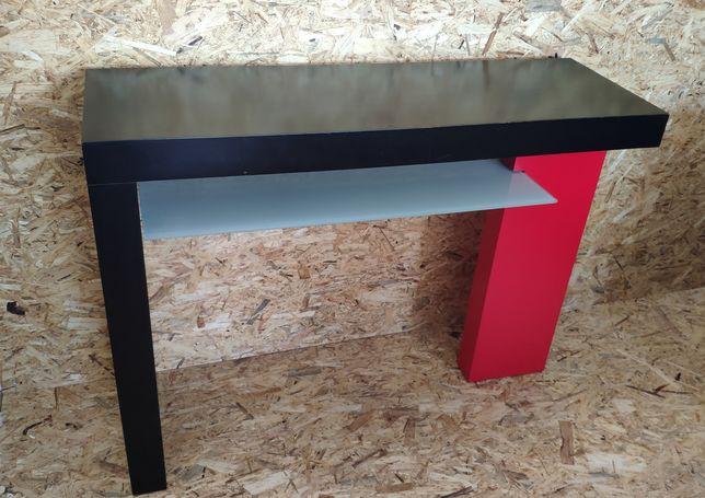 Consola marca Antarte - madeira e vidro