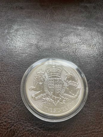 Moneta srebrna z serii Królewskie Herby 2021 stan menniczy