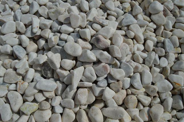 otoczak dolomitowy biało-kolorowy; otoczak dolomitowy melanż
