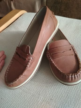 NOWE Mokasyny, półbuty,buty chłopięce r. 35 ze skóry LASOCKI