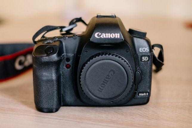 Canon 5D Mark II body + grip