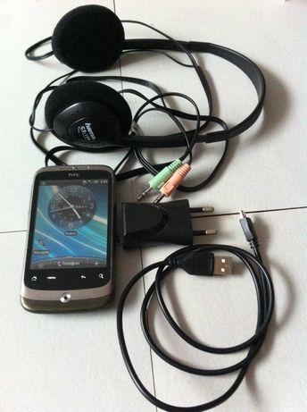 телефон HTC-wildfire A3333+наушники