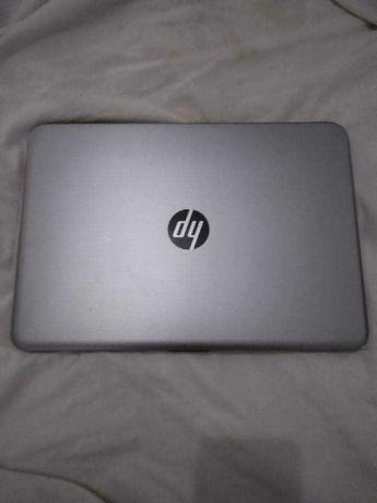 PC hp cinzento desktop