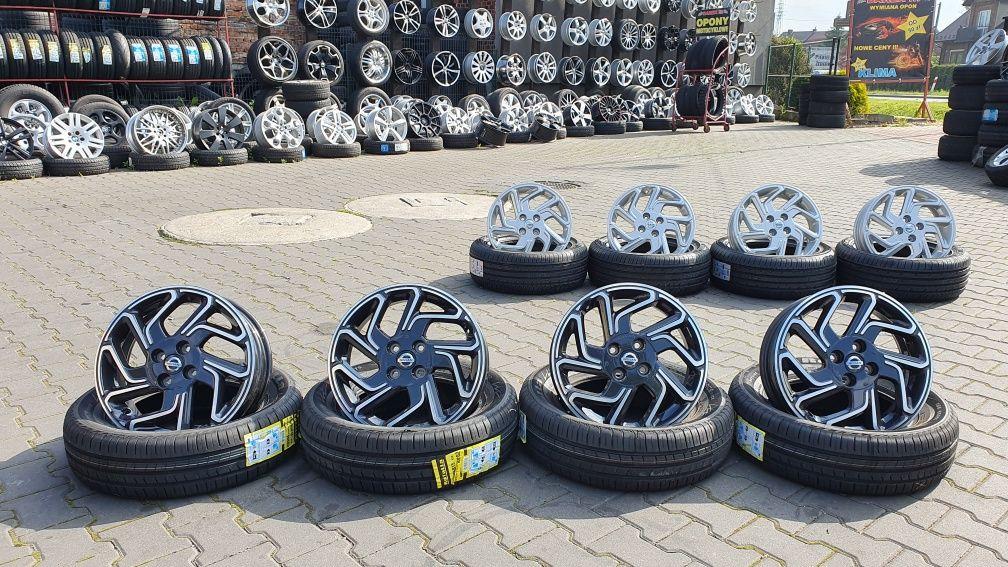 """Felgi aluminiowe 16"""" 4x100 5j et40 Nissan Mazda VW Kia itp."""