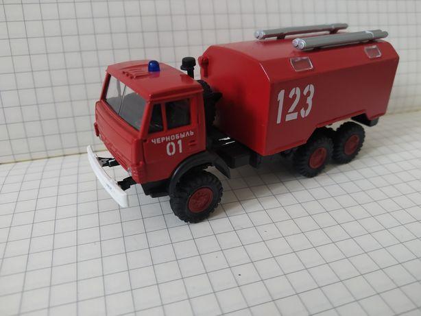 Model KAMAZ Czarnobyl skala 1/87