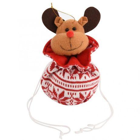 Игрушка-подарок мешочек- сюрприз, вязаная сумка