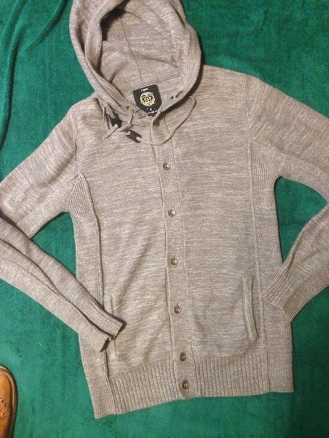 sweter popielaty S