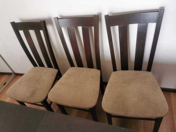 Duży solidny stół +6 krzeseł
