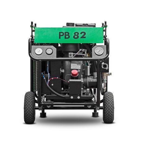 Sprężarka śrubowa do przecisku i wdmuchiwarki ATMOS PB82 1,0 m3, 14BAR