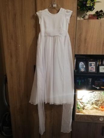 Sprzedam sukienko albę komunijną plus dodatki