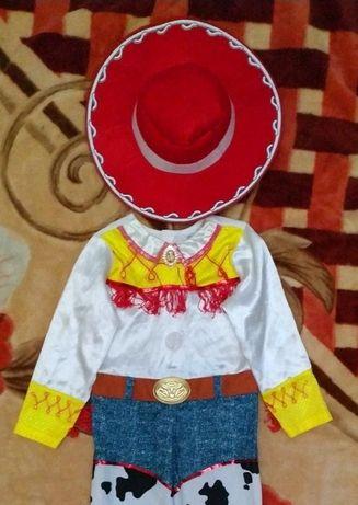 Карнавальный костюм девочки ковбоя из Истории игрушек на девочку 5-6 л