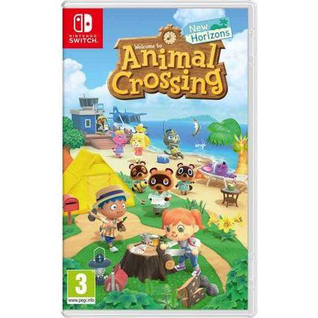 Jogo Animal Crossing: New Horizons Nintendo Switch - Seminovo - LOJA