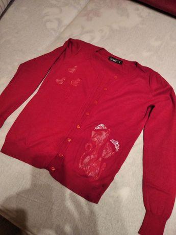 Sweter damski/młodzieżowy czerwony