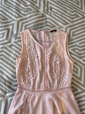 Vestido Rosa Pastel W52