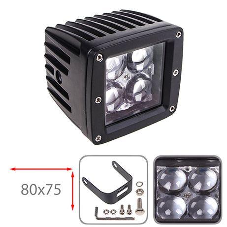 Фара прожектор LML-K1212-4D SPOT (4led*3w 80х75мм) (K1212-4D S)
