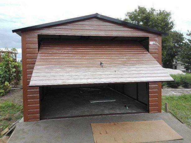Garaże blaszane, garaż 4x6, 5x6, 6x5, 3x5,3x6, producent, wiaty, hale,