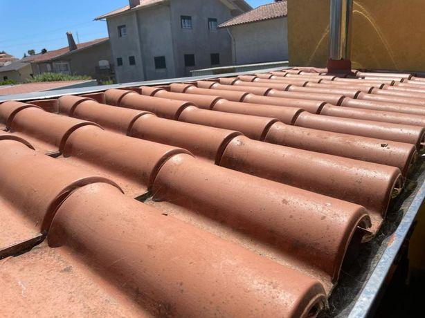 Dou telha usada, 4mil telhas