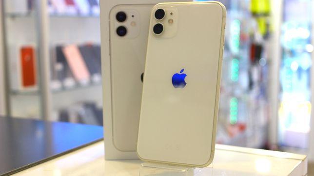 A++ Apple iPhone 11 64GB Biały   GWARANCJA   Niepodległości 1