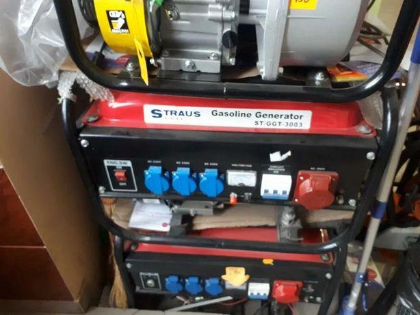 Бензиновий дизельний генератор