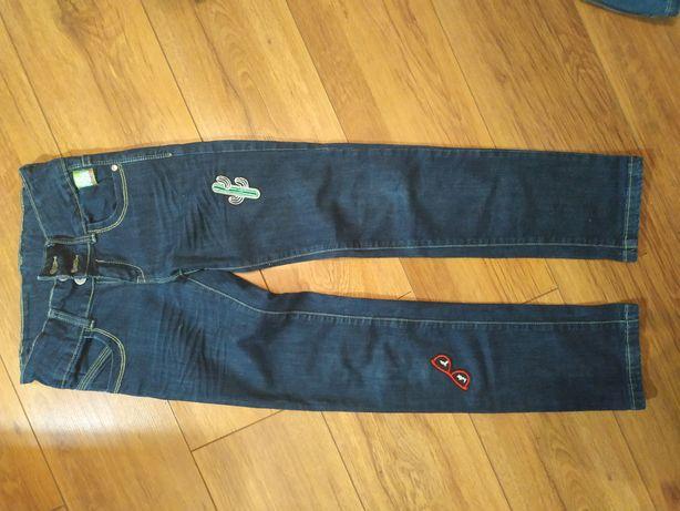 Spodnie dżinsy Reporter r.146, 10-11 lat.