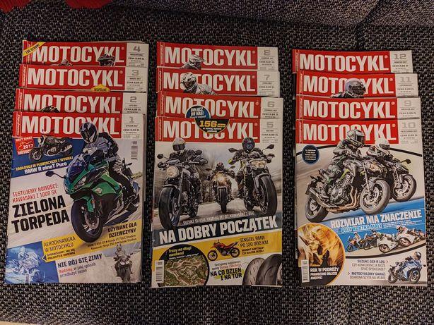Motocykl 2017 miesięcznik + gratis