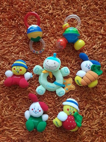 PORTES GRÁTIS - 7 Brinquedos da Chicco
