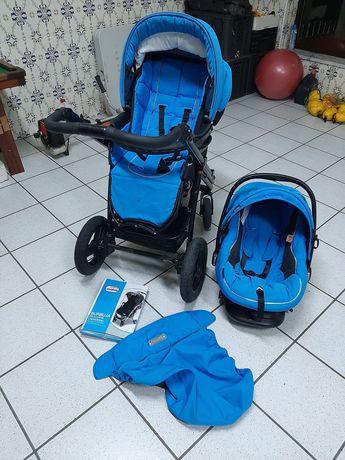 Carrinho Duo Bebecar Azul