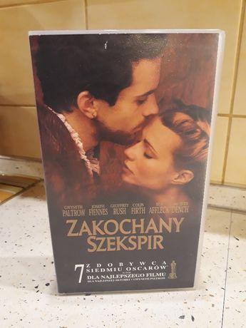 """Kaseta VHS z filmem """"Zakochany Szekspir"""""""