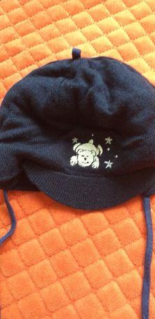 czapka chłopięca zimowa