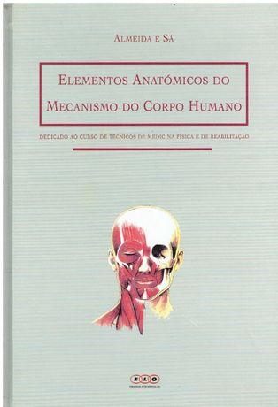 11286 Elementos Anatómicos do Mecanismo do Corpo Humano de Almeida e