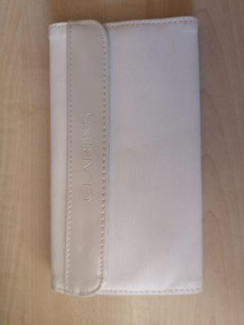 Кошелек клатч портмоне белый перламутр CLARINS