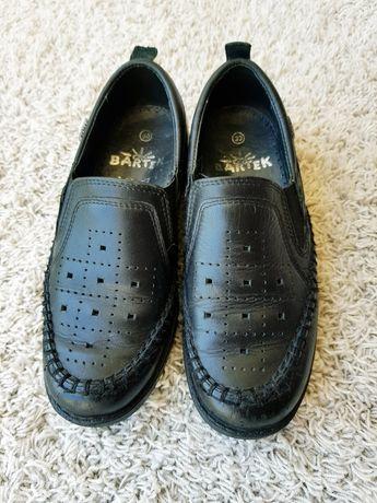 Кожаные туфли Bartek