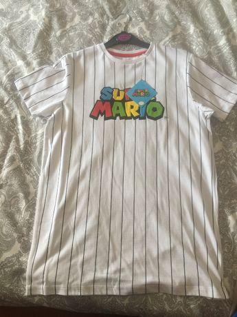 Tshirt Super Mario 13/14 anos ou XS Adulto - NOVA