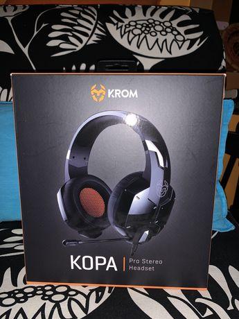 Vendo Headset Gaming KROM KOPA