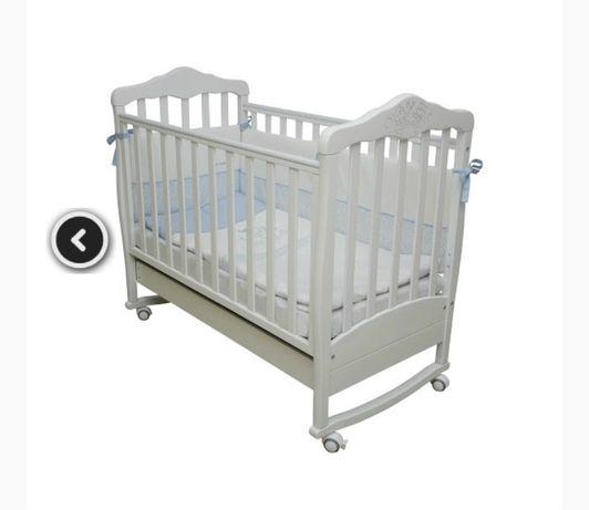 Детская кроватка соня верес мишки