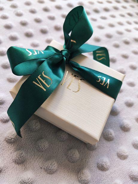 Pudełko YES pierścionek zaręczynowy kolczyki wisiorek GRATIS