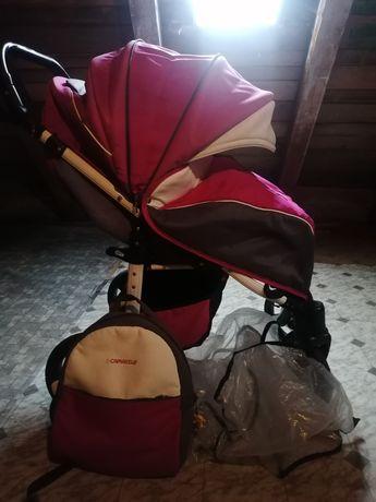 Wózek spacerowy  różowy camarello elf