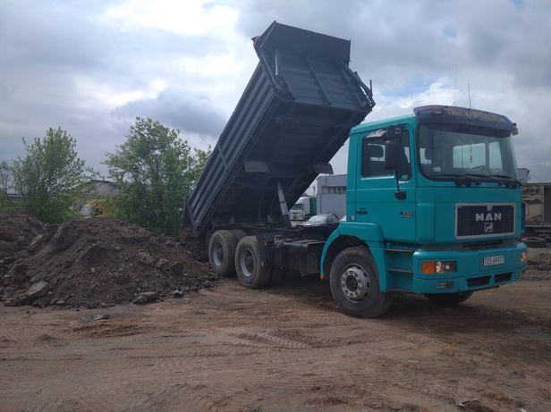 Transport materiałów sypkich 16 ton