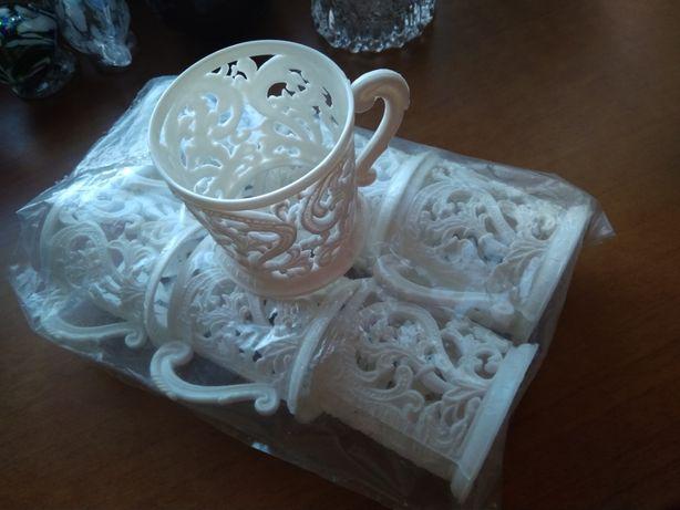 Koszyczki do herbaty nowe z metką, prl